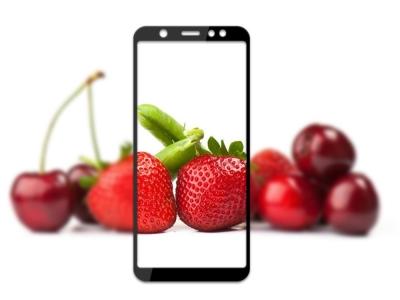 Стъклен Протектор MOCOLO 3D за Samsung Galaxy A6 Plus 2018, Черен