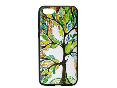 Силиконов Гръб за  Huawei Y5 2018, Пъстро дърво