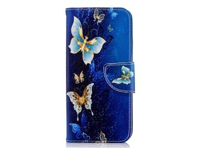 Калъф Тефтер за Samsung Galaxy J6 2018, Пеперуди