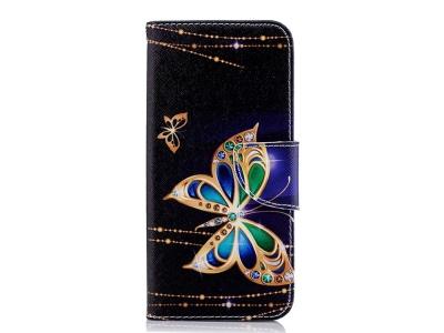 Калъф Тефтер за Samsung Galaxy J6 2018, Пеперуда
