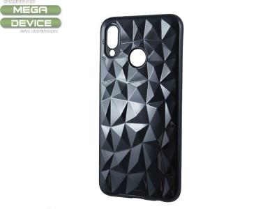 Силиконов гръб PRISM за Huawei P20 Lite, Черен