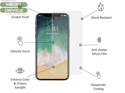 Стъклен протектор Roar 5D Full Glue за Iphone X , Прозрачен