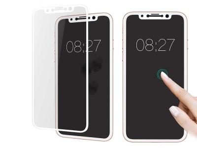 Стъклен протектор Roar 5D Full Glue за Iphone X, Бял