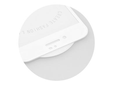 Стъклен протектор Roar 5D Full Glue за Iphone 7 / 8, Бял