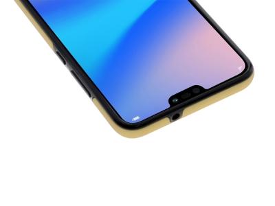 360 Градусов Калъф за Huawei P20 Lite, Златист