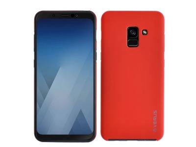 360 Градусов Калъф за Samsung Galaxy A5 2018 / A8 2018, Червен