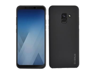 360 Градусов Калъф за Samsung Galaxy A5 2018 / A8 2018, Черен