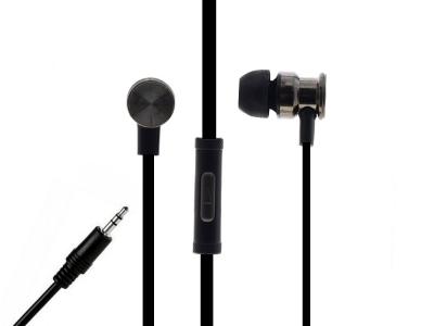 Слушалки с микрофон 3.5mm S1400, Черен