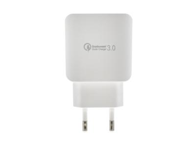 Адаптер 220v LS TC9 Quick Charge 3.0, Бял