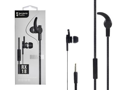 Слушалки с Микрофон PCPRO RX-18, Черен