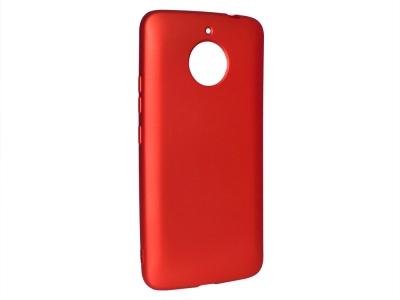Силиконов Гръб за Motorola MOTO G5S, Червен