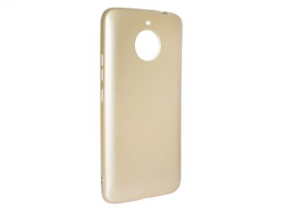 Силиконов Гръб Motorola MOTO G5S, Златист