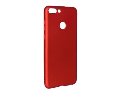 Силиконов Гръб Level за Huawei P Smart / Enjoy 7S, Червен