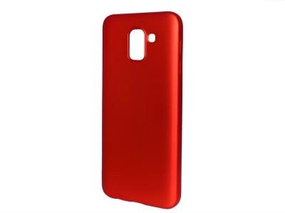 Силиконов Гръб Level за Samsung Galaxy J6 2018, Червен