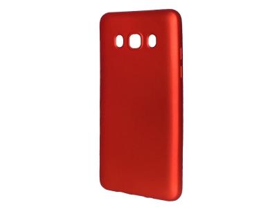 Силиконов Гръб Level за Samsung Galaxy J5 2016 J510, Червен