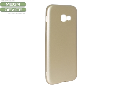 Силиконов Гръб Level за Samsung Galaxy A5 2017 A520, Златист