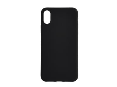 Силиконов Гръб Level за iPhone X , Черен