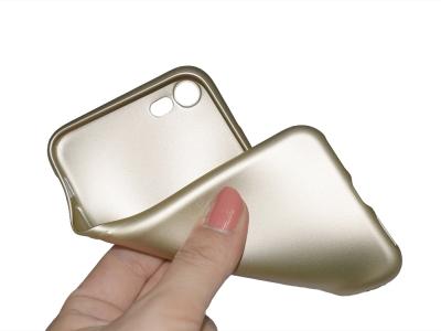 Силиконов Гръб Level за iPhone 7 / 8 (4.7), Златист