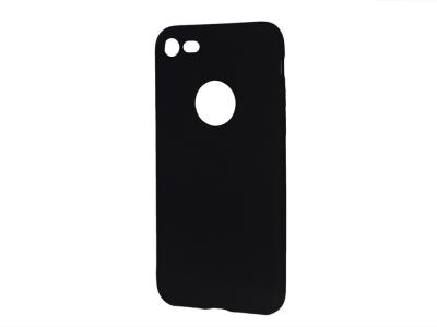 Силиконов Гръб Level за iPhone 7 / 8 (4.7), Черен