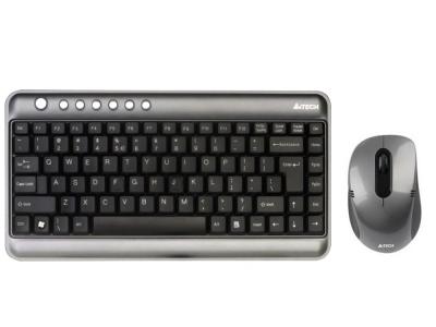 Клавиатура A4 7300N V-TRACK WL DSKTOP USB