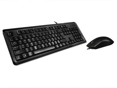 Клавиатура A4 KR-9276 USB, Черна