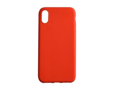 Силиконов Гръб I-Zore за iPhone X / 10, Червен
