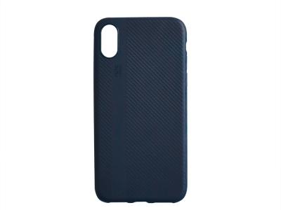 Силиконов Гръб I-Zore за iPhone X / 10, Тъмно син