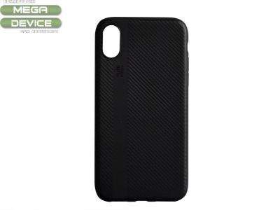 Силиконов Гръб I-Zore за iPhone X / 10 , Черен
