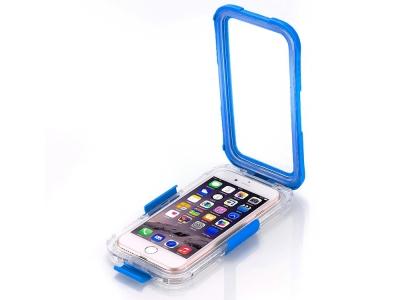 Водоустойчив калъф Waterproof за iPhone 7 PLUS / 8 PLUS, Син