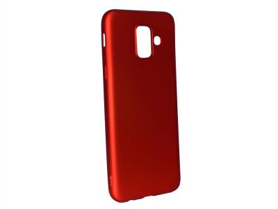 Силиконов Гръб Level за Samsung Galaxy A6 2018, Червен