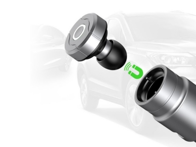 ЗАРЯДНО ЗА АВТОМОБИЛ И СЛУШАЛКА Bluethooth 4.0 Car kit/Headset end Charging 2.4A Baseus