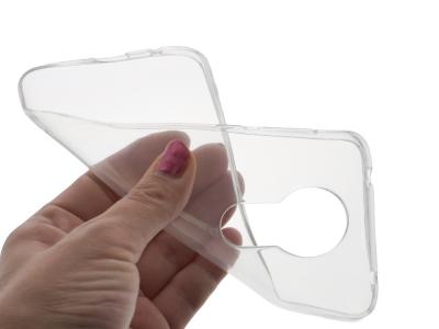 Силиконов гръб за Motorola Moto E5 Plus, Прозрачен