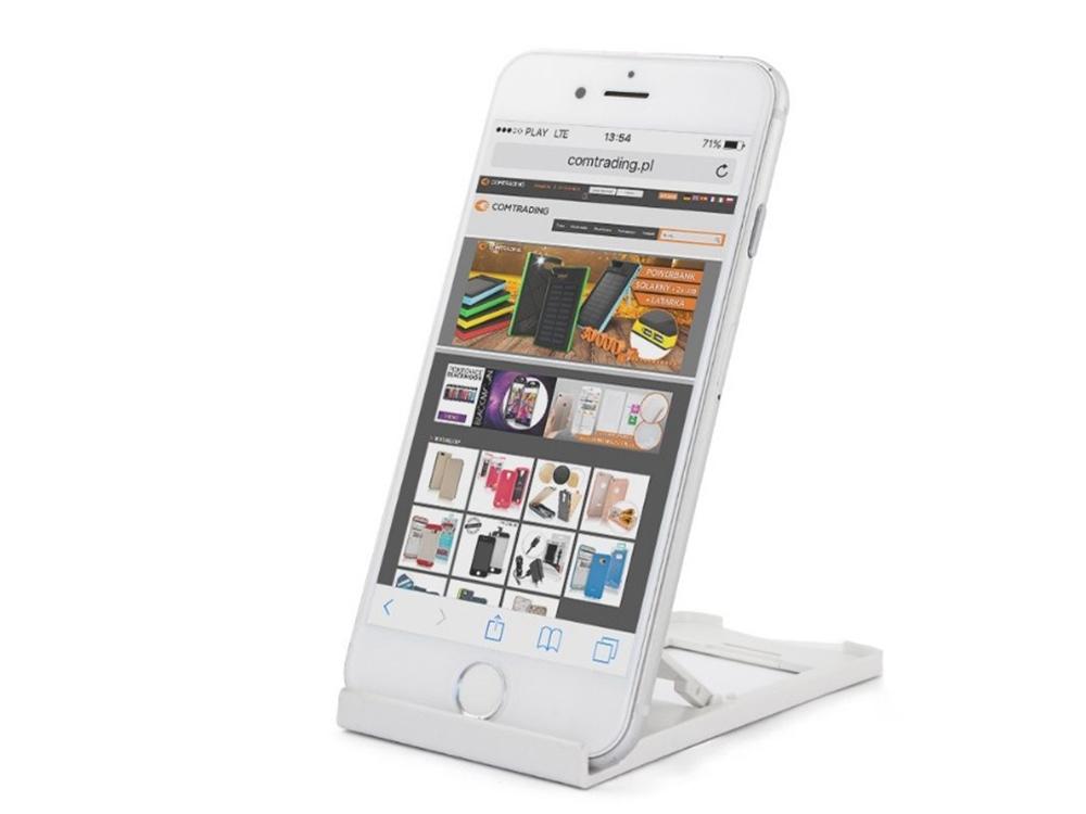 Универсална поставка за Телефон или таблет, Бял