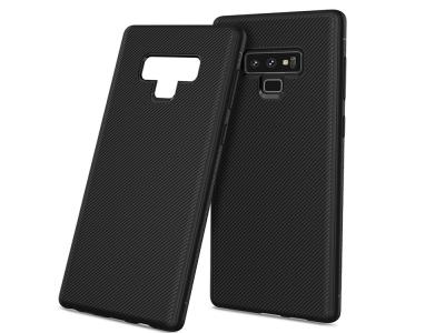 Силиконов Гръб Twill за Samsung Galaxy Note 9 , Черен