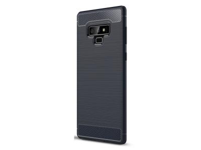 Силиконов гръб Carbon за Samsung Galaxy Note 9 , Тъмно син