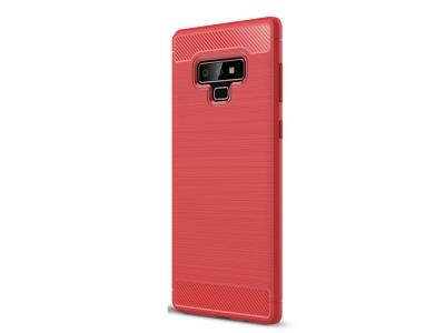 Силиконов гръб Carbon за Samsung Galaxy Note 9 , Червен