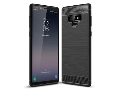 Силиконов Калъф Carbon Fibre Brushed - Samsung Galaxy Note 9 - Black