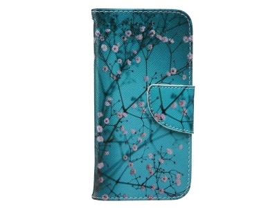 Калъф Тефтер за iPhone 6s / 6 (4.7), Дърво с цветове