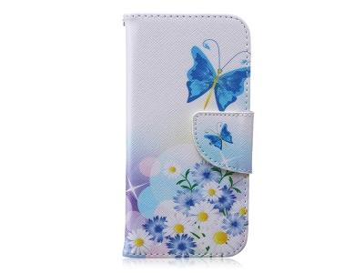 Калъф Тефтер за  iPhone 6s / 6 (4.7), Сини пеперуди
