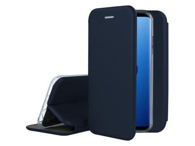 Калъф Тефтер ELEGANCE за Samsung Galaxy S9 G960 , Тъмно син