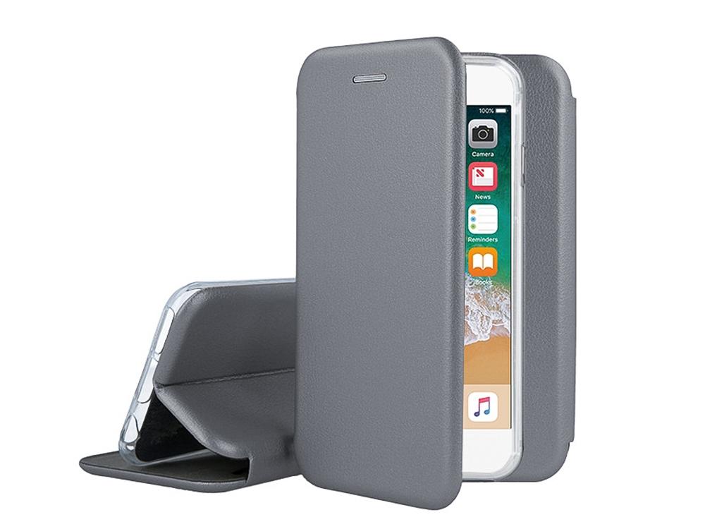 Калъф Тефтер ELEGANCE за IPhone 7/ IPhone 8, Сив