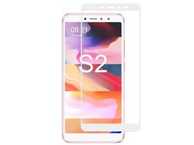 Стъклен протектор 3D Full RURIHAI за Xiaomi Redmi S2 / Redmi Y2, Бял