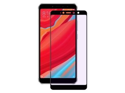 Стъклен протектор 3D Full RURIHAI за Xiaomi Redmi S2 / Redmi Y2, Черен