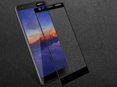 Стъклен Протектор IMAK Full за Nokia 3 2018, Черен