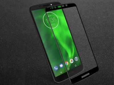Стъклен Протектор IMAK Full за Motorola Moto E5/Moto G6 Play, Черен