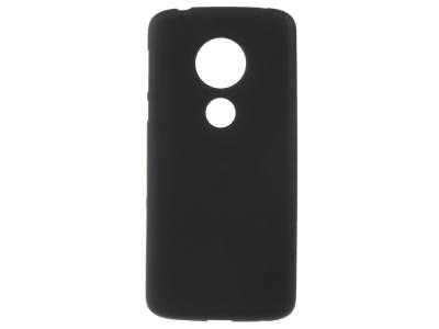 Силиконов Гръб Matte за Motorola Moto E5 / G6 Play , Черен