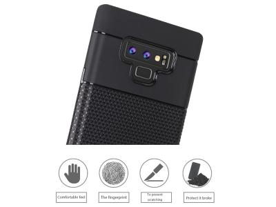 Силиконов гръб Pattern за Samsung Galaxy Note 9 (N960) , Черен