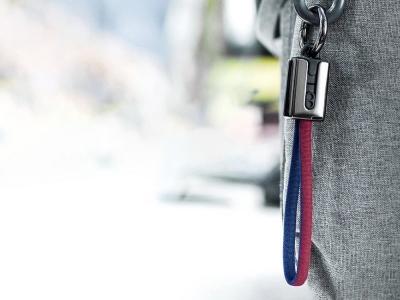 USB Кабел HOCO U36 към Micro USB , Червен/ Син