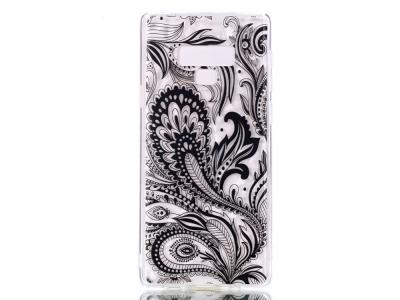 Силиконов Гръб PRISM за Samsung Galaxy Note 9 (N960) , Черни Цветя