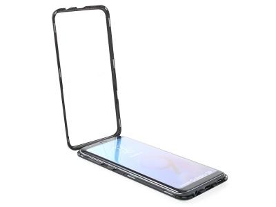 360 Алуминиев магнитен бъмпер за Samsung Galaxy S9 (G960), Черен